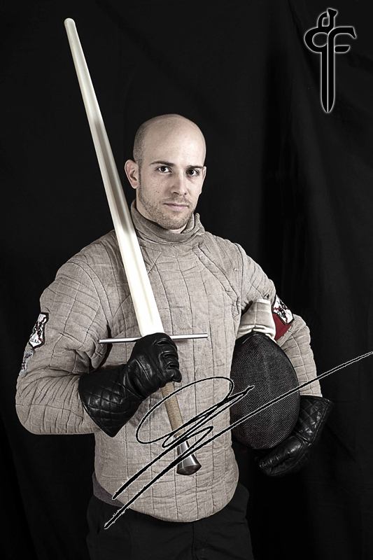 Black fencer