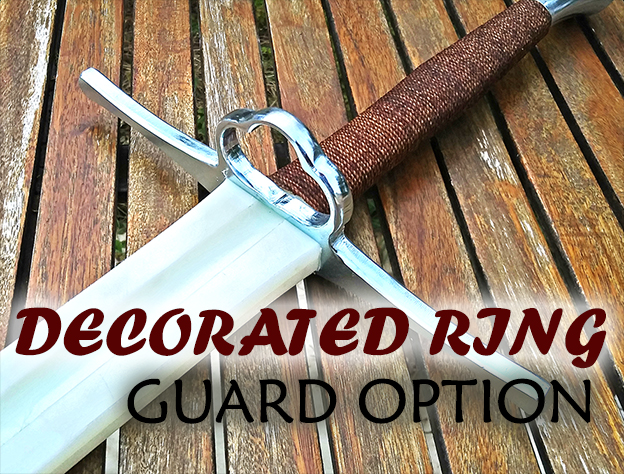 DECORATED RING GUARD OPTION